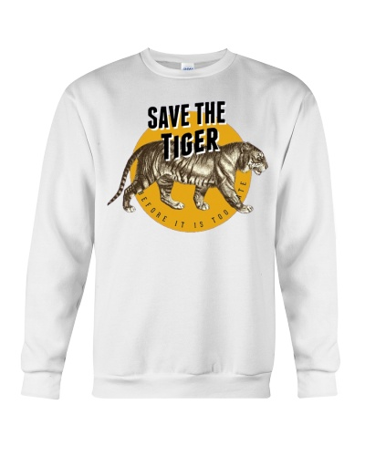 Save the Tiger Endangered Species Tee