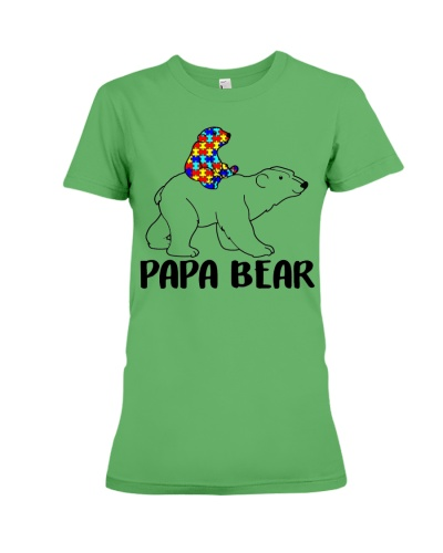 Papa Bear Autism Awareness For Men