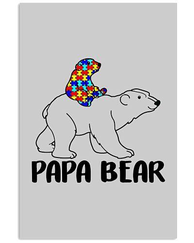 Papa Bear Autism Awareness For Men