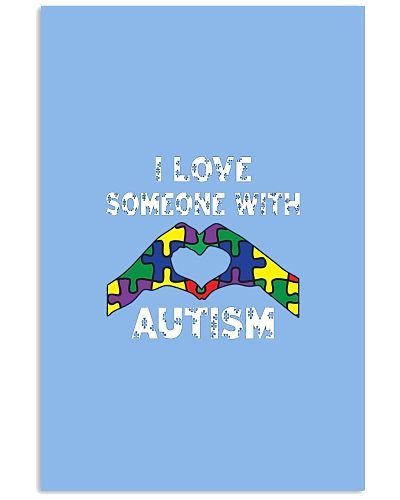 Autism Awareness I Love A Someone With Autism