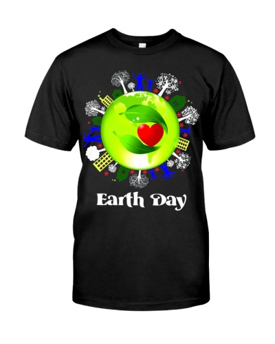 Earth Day Planet Earth and Love