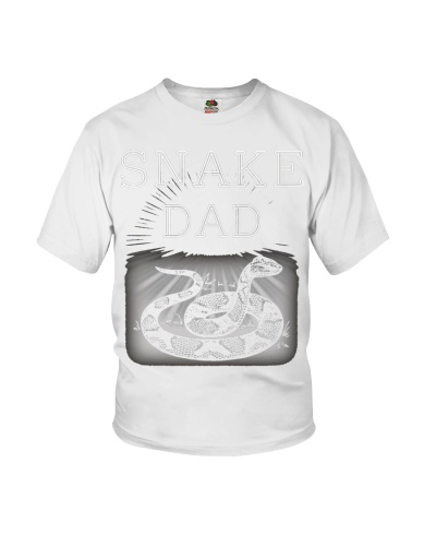 Fathers Day Snake Dad Owner And Reptile Lover Tee