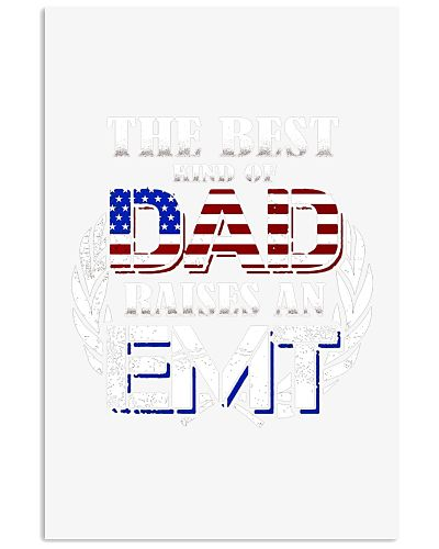 Mens Best Dad Raises An Emt  Fathers Day
