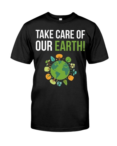 Take Care of Our Earth Tree Hugger Arbor Day