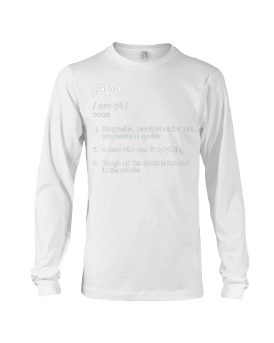 Gpa Definition T  Funny Fathers Day Gift Tee