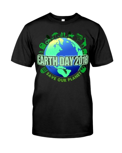 Earth Day March Save Our Planet Family   Kids