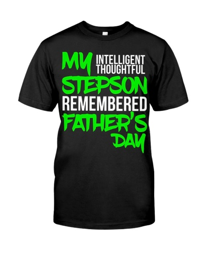 Mens For Stepfather From Stepson For Fathers Day