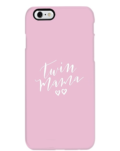 Twin Mama Hearts Womens Mother Mom Double Love
