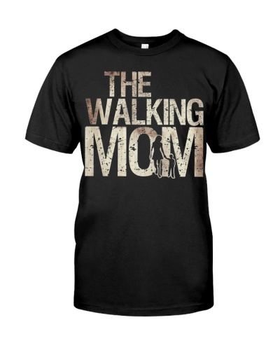 Walking Mom Zombie Woman And Kid Mothers Day