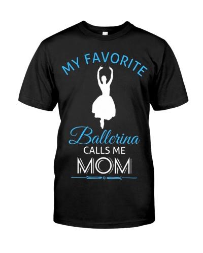 Ballet Mom  Ballerina Dance Recital Tee