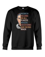 Ruth Bader Ginsburg T-Shirts Crewneck Sweatshirt thumbnail