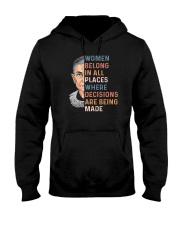 Ruth Bader Ginsburg T-Shirts Hooded Sweatshirt thumbnail