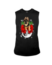 German Shepherd Christmas Sleeveless Tee thumbnail