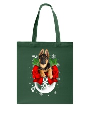 German Shepherd Christmas Tote Bag thumbnail