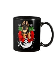 German Shepherd Christmas Mug thumbnail