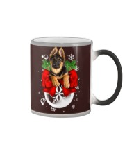 German Shepherd Christmas Color Changing Mug thumbnail
