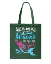 She Is Tossed By The Wave - Sink Tote Bag thumbnail