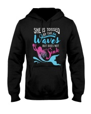 She Is Tossed By The Wave - Sink Hooded Sweatshirt thumbnail