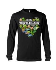 Crazy Turtle Lady Long Sleeve Tee thumbnail