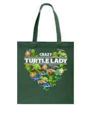Crazy Turtle Lady Tote Bag thumbnail