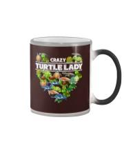 Crazy Turtle Lady Color Changing Mug thumbnail