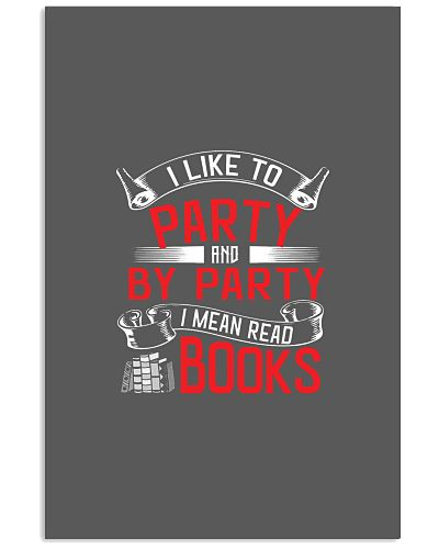 By Party I Mean Books