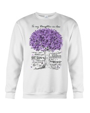 TO MY DAUGHTER IN LAW Crewneck Sweatshirt thumbnail
