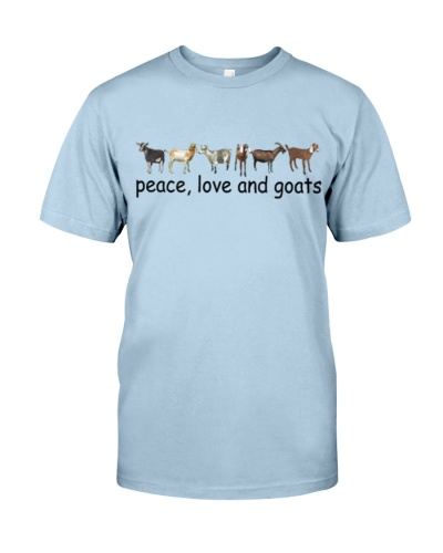 Peace Love and Goats