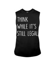 Think While It's Still Legal Sleeveless Tee thumbnail
