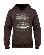 Lucky Man Hooded Sweatshirt front