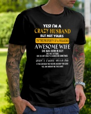 Yes Im A Crazy Husband  Classic T-Shirt lifestyle-mens-crewneck-front-7
