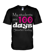 100day Studens V-Neck T-Shirt thumbnail