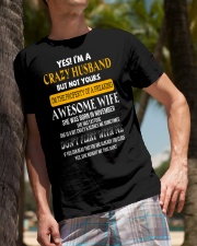 Yes Im A Crazy Husband Classic T-Shirt lifestyle-mens-crewneck-front-10