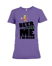 Beer me i'm irish Premium Fit Ladies Tee thumbnail