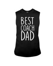 Best coach dad Sleeveless Tee thumbnail