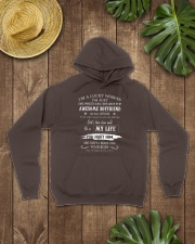 i'm a lucky woman Hooded Sweatshirt lifestyle-unisex-hoodie-front-7