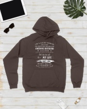 i'm a lucky woman Hooded Sweatshirt lifestyle-unisex-hoodie-front-8