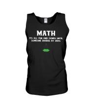 Math Unisex Tank thumbnail