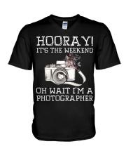 Hooray V-Neck T-Shirt thumbnail