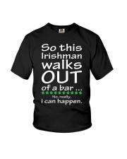 Irishman walks out Youth T-Shirt thumbnail