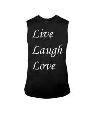 Live Laugh Love Sleeveless Tee thumbnail