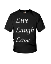Live Laugh Love Youth T-Shirt thumbnail