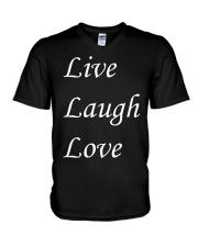 Live Laugh Love V-Neck T-Shirt thumbnail