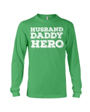 Cute Funny Fathers Day Gift from wife daughter son Long Sleeve Tee thumbnail