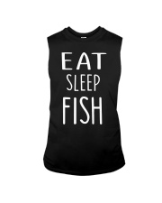 Eat Sleep Fish Sleeveless Tee thumbnail