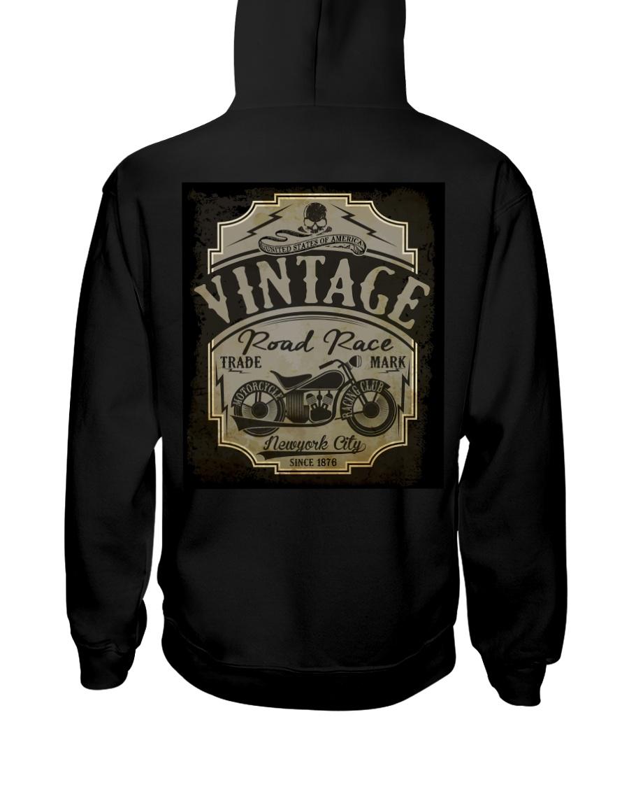 Vintage Road Races - NYFashion Hooded Sweatshirt