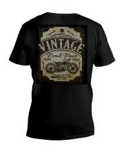 Vintage Road Races - NYFashion V-Neck T-Shirt tile