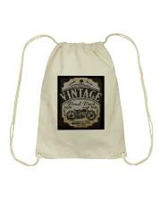 Vintage Road Races - NYFashion Drawstring Bag thumbnail