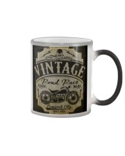 Vintage Road Races - NYFashion Color Changing Mug tile