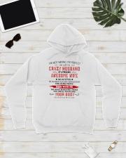 Crazy Husband Hooded Sweatshirt lifestyle-unisex-hoodie-front-8